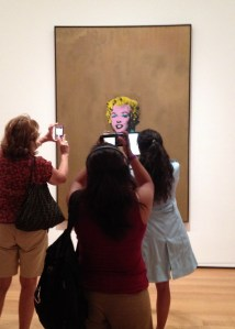 Hey Marilyn.MOMA.8.29.14